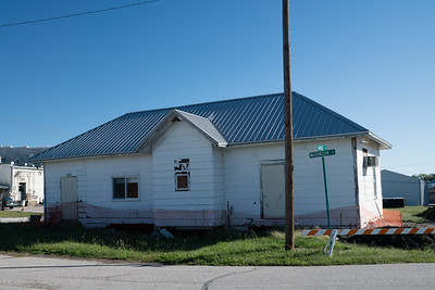 Former CB&Q depot in Sterling, NE.