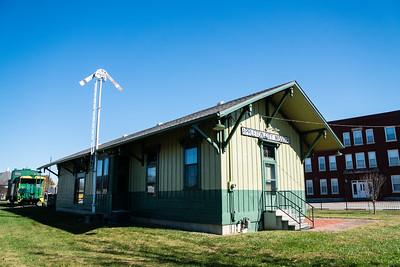 Appleton City, MO M-K-T depot.