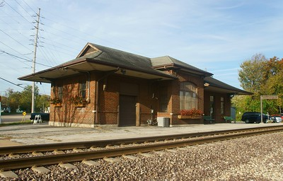 Chicago & Alton depot in Alton, IL.