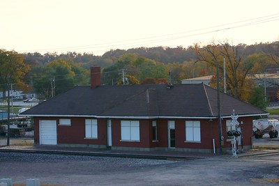 Canton, MO CB&Q depot.
