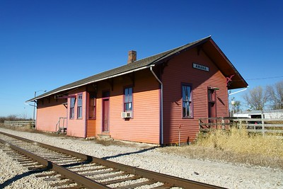 Milwaukee depot in Amana, IA.
