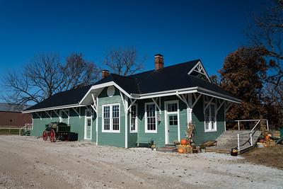 El Dorado Springs, MO M-K-T depot.