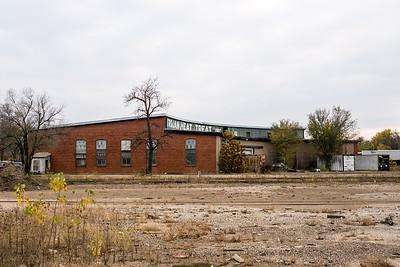 Missouri Pacific roundhouse in Joplin, MO.