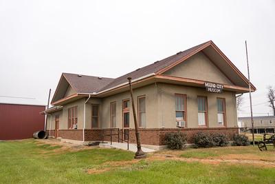 Mound CIty, MO CB&Q depot
