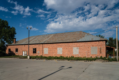 Engine house for the Wyoming Railway in Buffalo, WY.