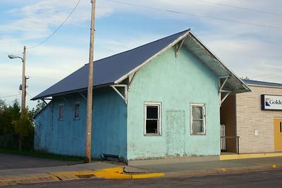 Milwaukee depot from Weta, SD now located in Kadoka, SD.