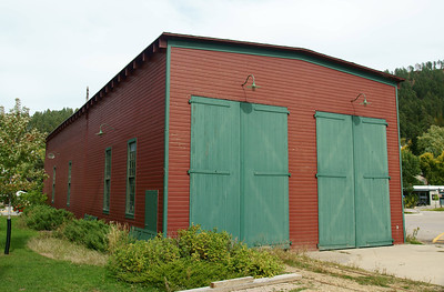 Former CB&Q Engine House in Deadwood, SD