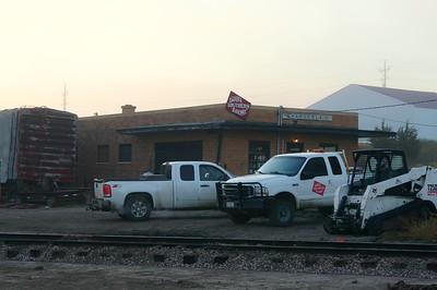 Chamberlain, SD CMStP&P depot.