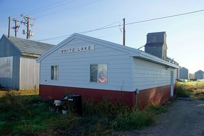 Burlington Northern depot found in White Lake, SD.