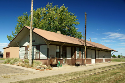 Kadoka, SD CMStP&P depot