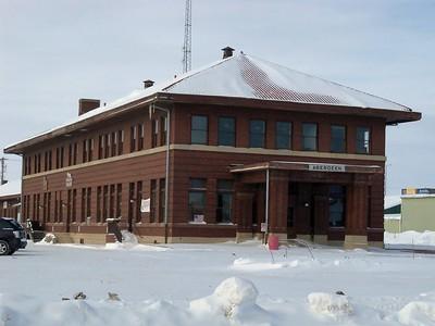 Aberdeen, SD CMStP&P Depot