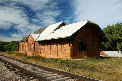 Sturgis, SD C&NW Depot