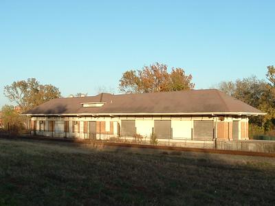Crockett, TX I&GN depot