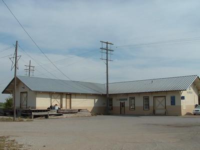 McGregor, TX Santa Fe depot