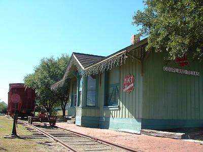 Coupland, TX MKT depot