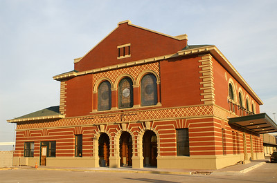 Nearly renovated Union Station in 2006.