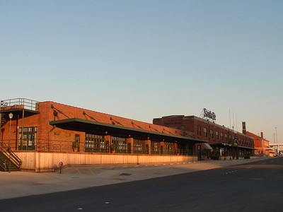 This is the former Santa Fe freight depot in Fort Worth.  The second floor was where the Northern Division offices were located.  The taller building in the back is the former Union Station.