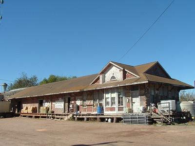 Houston & Texas Central depot in Giddings, TX.
