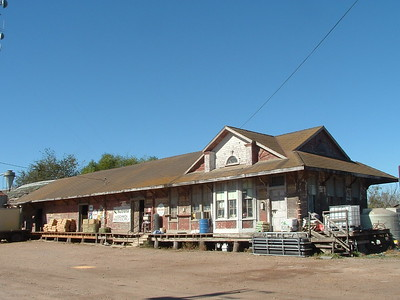 Houston & Texas Central depot in Giddings, TX.