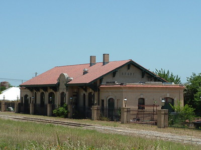 Brady, TX Santa Fe depot