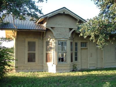 Santa Fe depot in Lometa, TX.