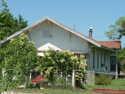 Whiteland, TX ATSF depot
