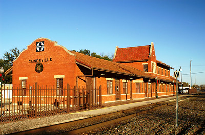This former Santa Fe depot  in Gainesville, TX is one of my favorites.