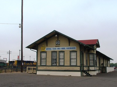 Moody , TX ATSF depot now located in Temple, TX.