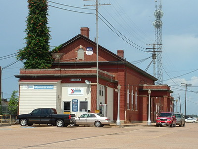 Longview, TX Texas Pacific depot now used by Union Pacific and Amtrak.