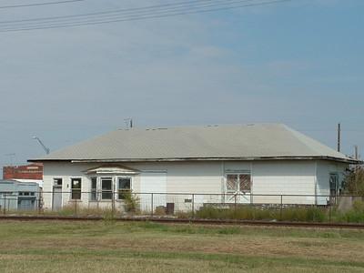 Fort Worth & Denver depot in Electra, TX.  *** Demolished April 2012 ***
