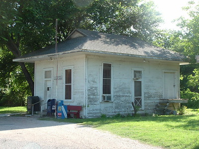 SLSW depot in Mound, TX now used as post office.