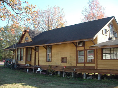 Texas & New Orleans depot outside of Nacogdoches, TX.