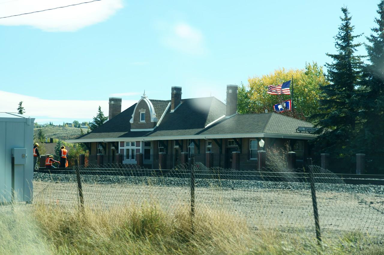 Evanston, WY Union Pacific depot