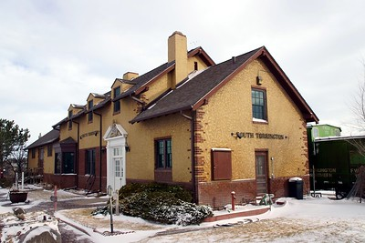 Union Pacific depot in Torrington, WY.  Now a museum.
