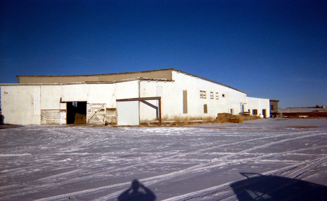 Lusk, WY C&NW Roundhouse