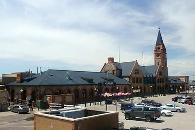 Cheyenne, WY Union Pacific depot.
