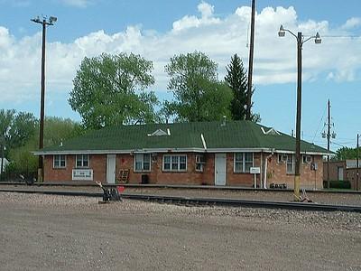 Cheyenne, WY Colorado & Southern Depot