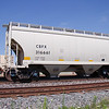 CIT Group/Capital Finance Incorporated 2-Bay Trinity 3282 cu. ft. Covered Hopper No. 316661
