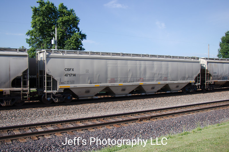 CIT Group/Capital Finance Incorporated 4-Bay Covered Hopper No. 471714