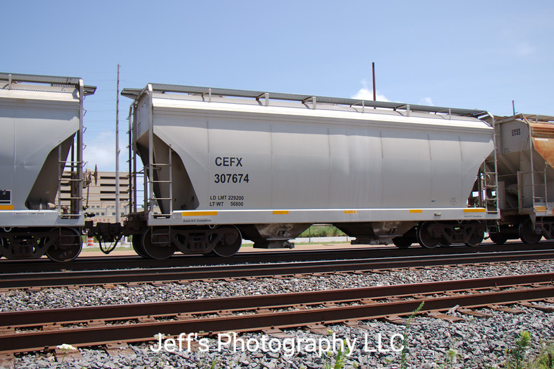 CIT Group/Capital Finance Incorporated 2-Bay Greenbrier 3250 cu. ft. Covered Hopper No. 307674