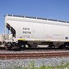 CIT Group/Capital Finance Incorporated 2-Bay ARI 3260 cu. ft. Through-Sill Covered Hopper No. 312718