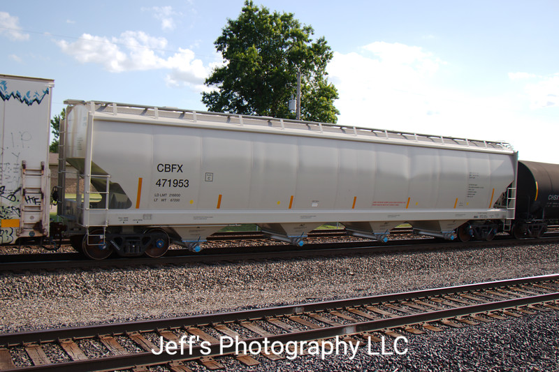 CIT Group/Capital Finance Incorporated 4-Bay Trinity Covered Hopper No. 471953