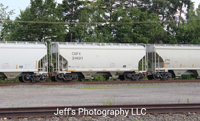 CIT Group/Capital Finance Incorporated 2-Bay Greenbrier 3250 cu. ft. Covered Hopper No. 314511