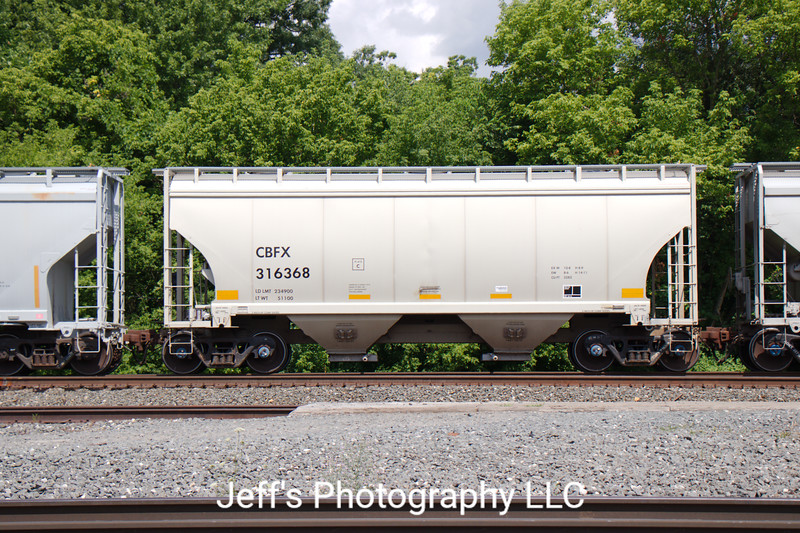 CIT Group/Capital Finance Incorporated 2-Bay FCA 3282 cu. ft. Covered Hopper No. 316368