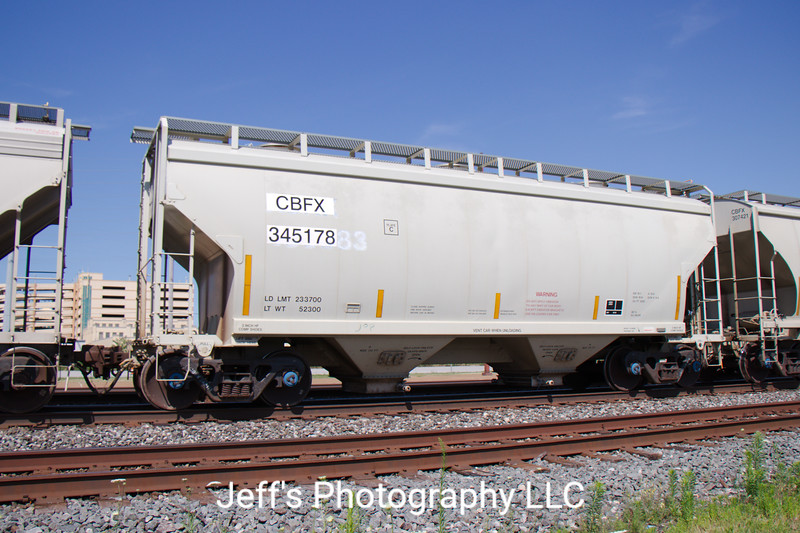 CIT Group/Capital Finance Incorporated 2-Bay Greenbrier 3250 cu. ft. Covered Hopper No. 345178