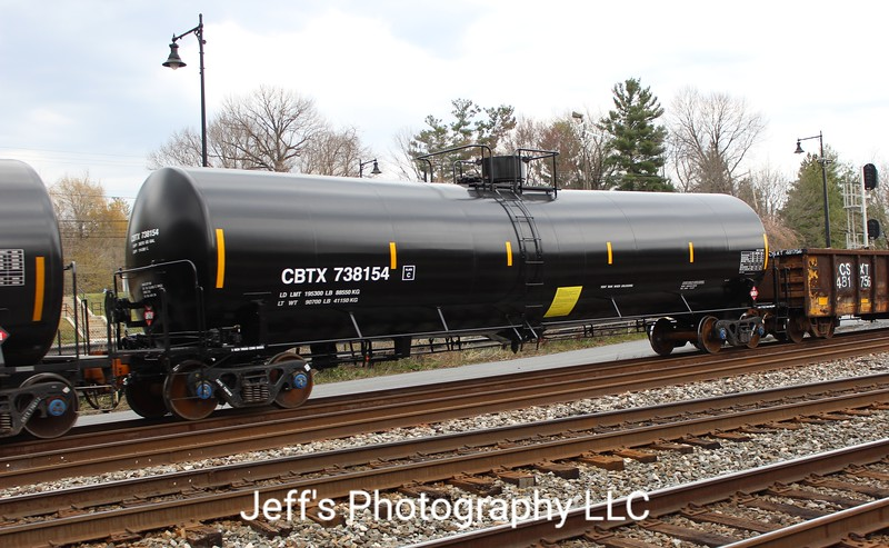 CIT Group/Capital Finance Incorporated 30,390 Gallon Tank Car No. 738154