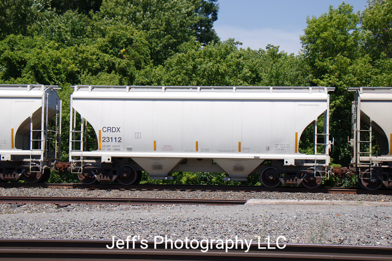 Chicago Freight Car Leasing Company 2-Bay Trinity 3281 cu. ft. Covered Hopper No. 23112