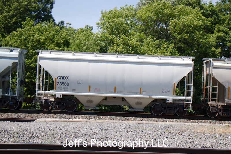 Chicago Freight Car Leasing Company 2-Bay Trinity 3281 cu. ft. Covered Hopper No. 23560