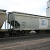 Chicago Freight Car Leasing Company 3-Bay Trinity 5150 cu. ft. Covered Hopper No. 13844