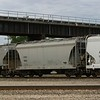 Chicago Freight Car Leasing Company 2-Bay Thrall 3000 cu. ft. Cement Covered Hopper No. 9650
